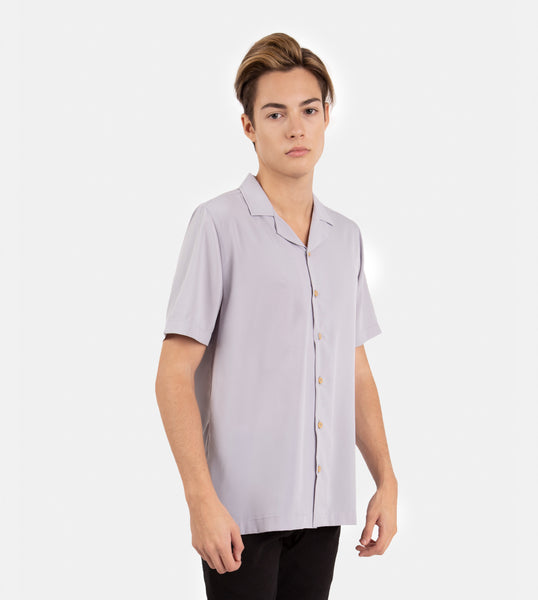 SuperSoft Lounge Shirt (Light Gray)