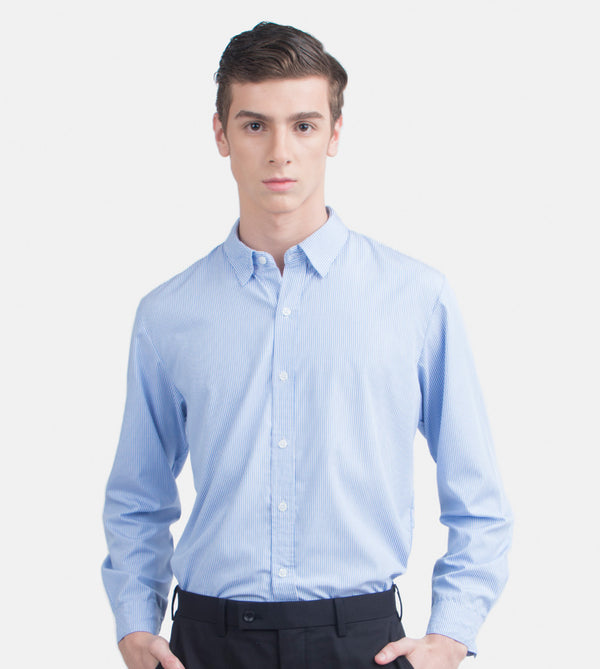 The Investment Long Sleeves Shirt (Light Blue)