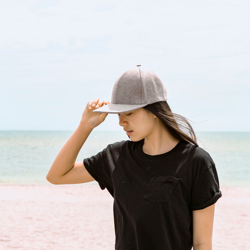 Prime Wool Baseball Cap (Gray)