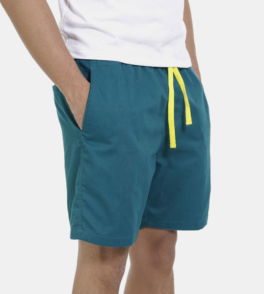 Tailored Shorts (Pacific Blue) - Diagonal