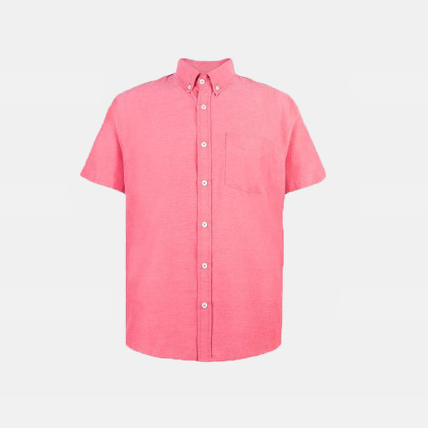 Japanese Chambray Work & Play Shirt (Red)