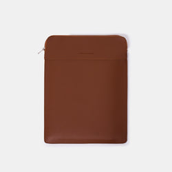 D. V. L. Portrait Laptop Case (Tan)