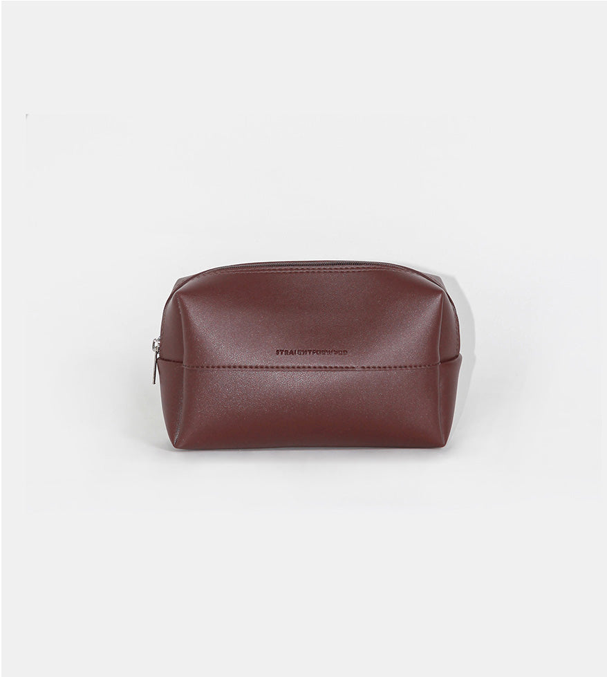 Leather Pouch (Chestnut) - Product Shot