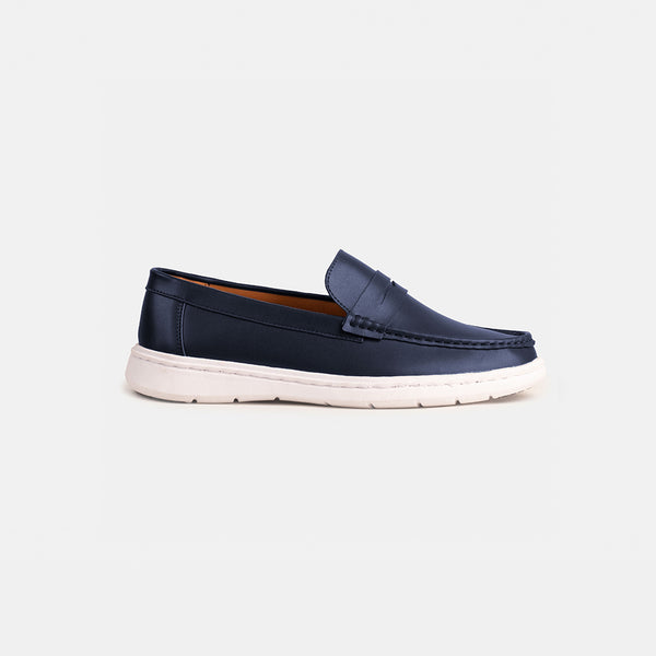 Premium D.V.L. Everyday Loafers (Navy Blue)