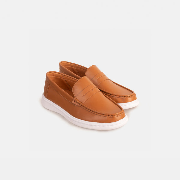 Premium D.V.L. Everyday Loafers (Tan)