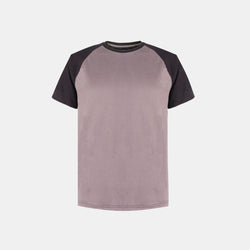 UltraSoft Short Sleeve Raglan (Heather Gray)