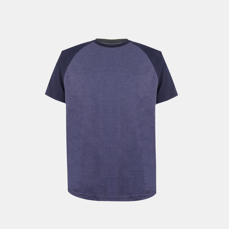 UltraSoft Short Sleeve Raglan (Heather Blue)