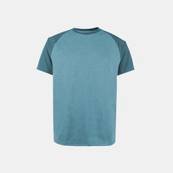 UltraSoft Short Sleeve Raglan (Heather Peacock)