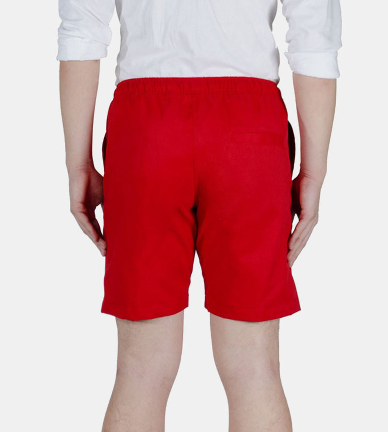 Tailored Shorts (Red) - Back