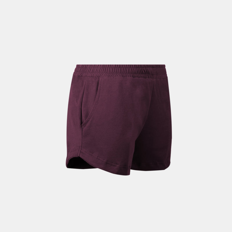 Women's UltraSoft Dolphin Shorts (Wine)