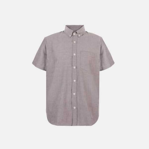 Japanese Chambray Work & Play Shirt (Charcoal)