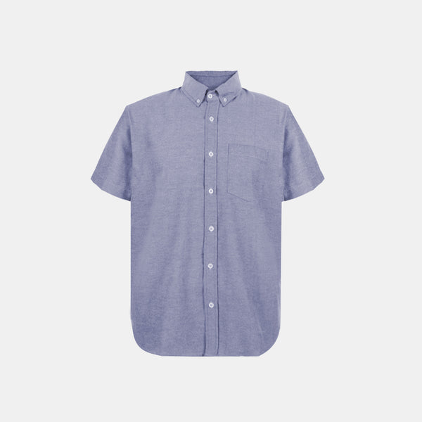 Japanese Chambray Work & Play Shirt (Dark Denim)