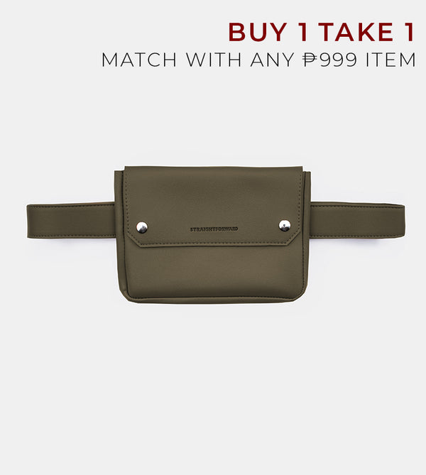 D. V. L. Clutch Belt Bag (Army Green)