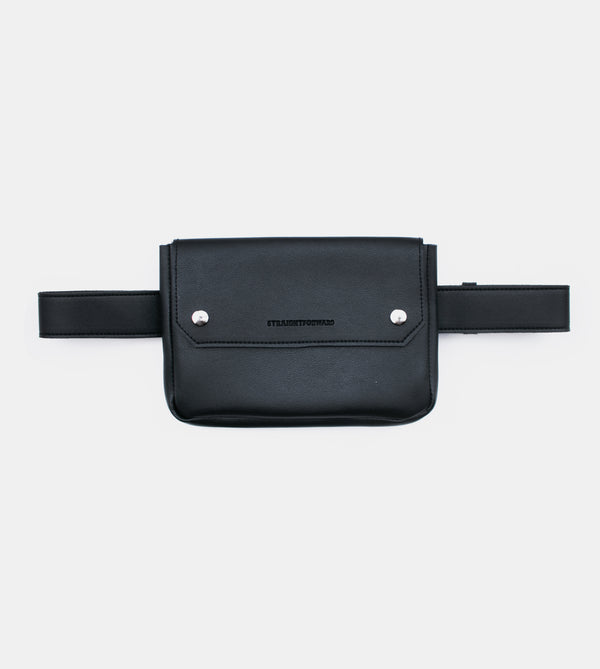 D. V. L. Clutch Belt Bag (Black)