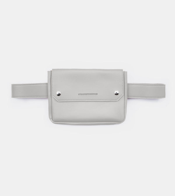 D. V. L. Clutch Belt Bag (Cool Gray)