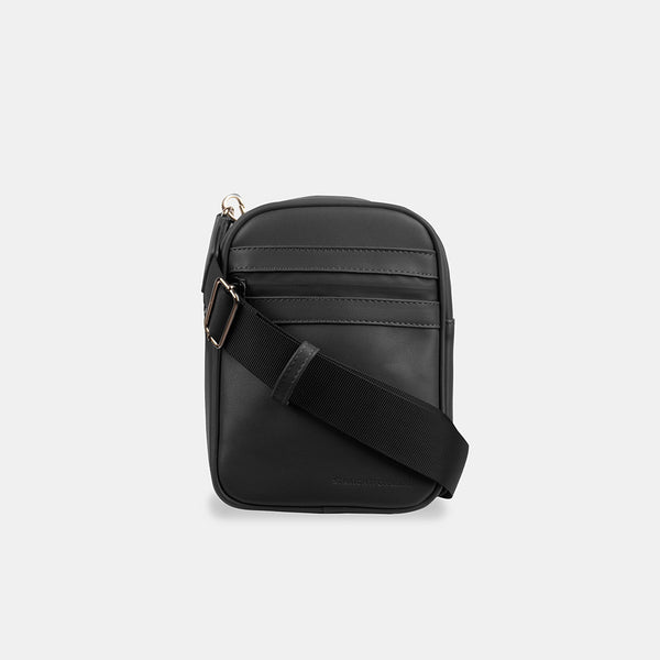 D.V.L. Mini Cross Body Bag (Black)