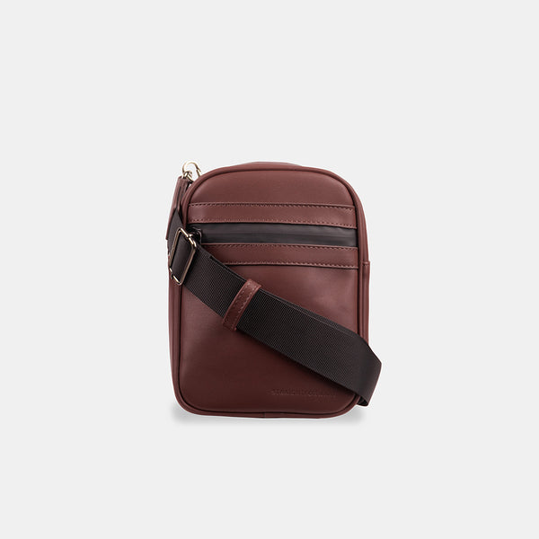 D.V.L. Mini Cross Body Bag (Chestnut)