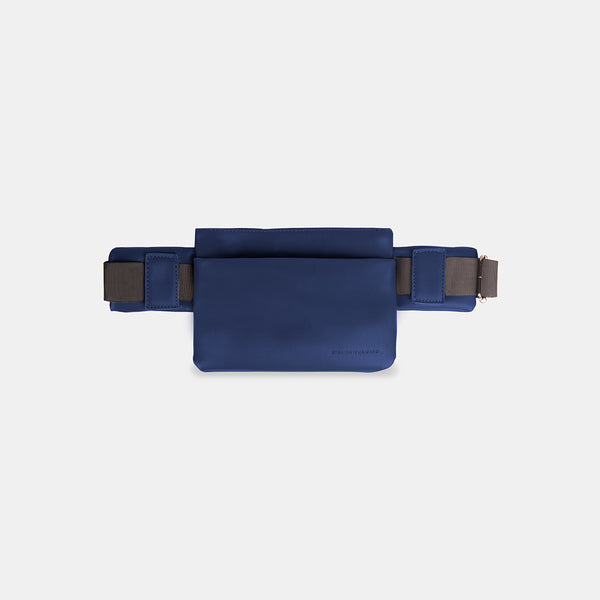 D.V.L. Monochrome Belt Bag (Navy Blue)