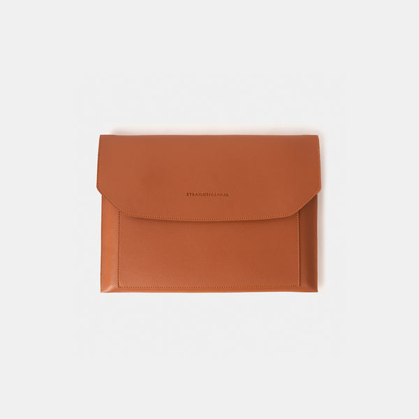 D.V.L. Multi-pocket Laptop Sleeve (Tan)