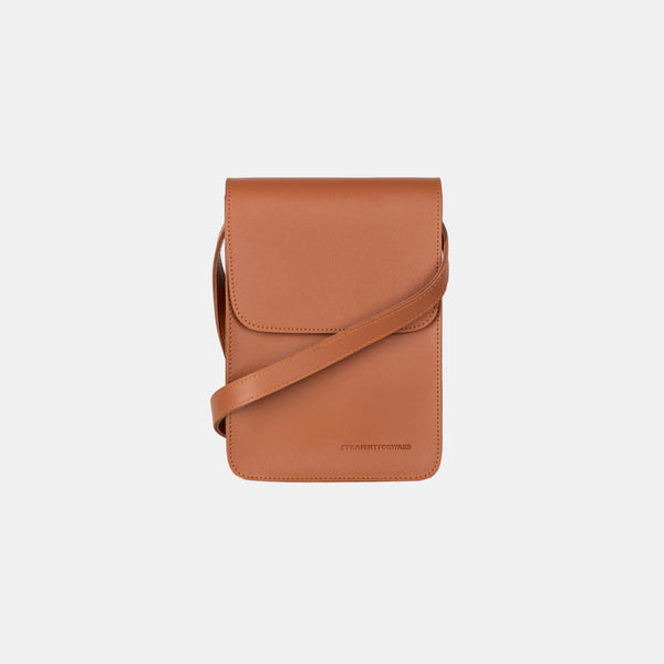 D.V.L. Mini Cross Body Sling Bag (Tan)