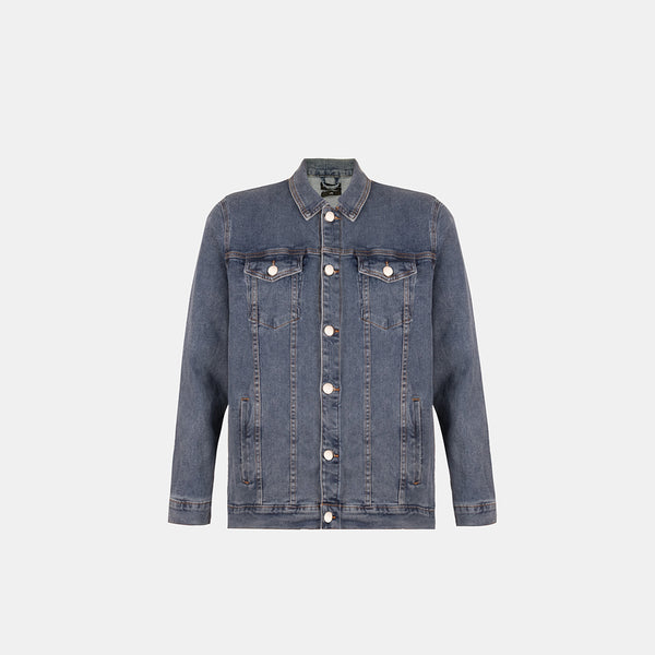 Dynamic Denim Jacket (Denim Blue)