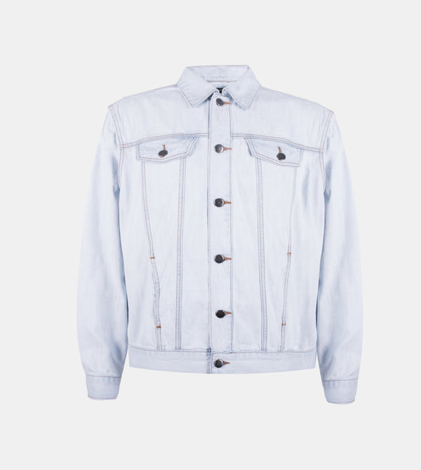 Dynamic Denim Jacket (Light Blue)