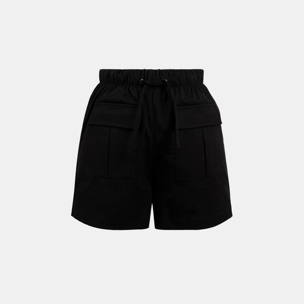 Easywear Pocket Patched Shorts (Black)