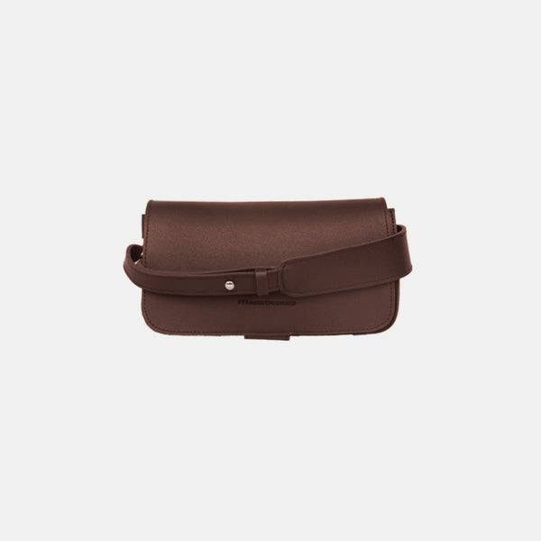 D. V. L. Flap Crossbody Bag (Chestnut)