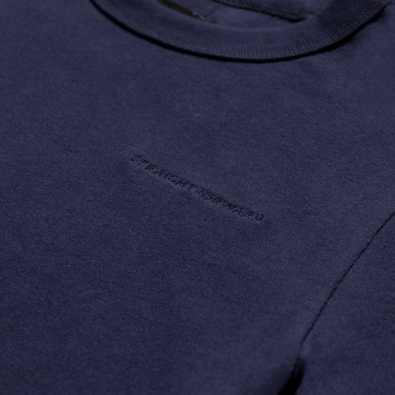 Women's Heavyweight Basic Tee (Navy Blue)