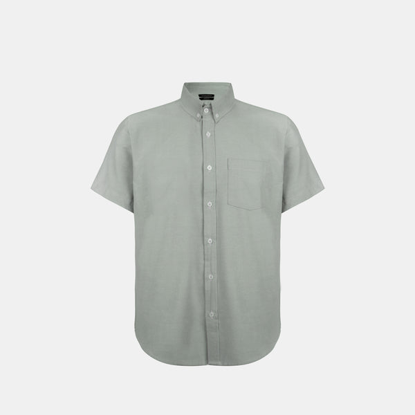 Japanese Chambray Work & Play Shirt (Iceberg Green)