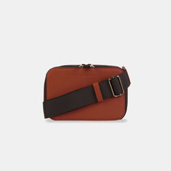 D.V.L. Mini Clutch Sling Bag (Chestnut)