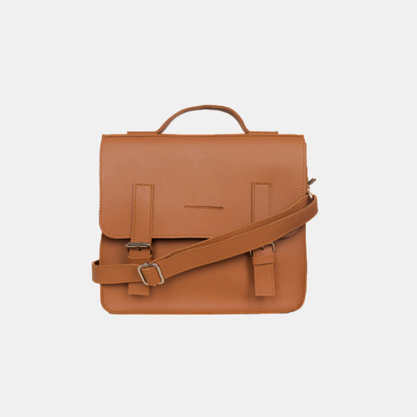 D. V. L. Mini Satchel Bag (Tan)