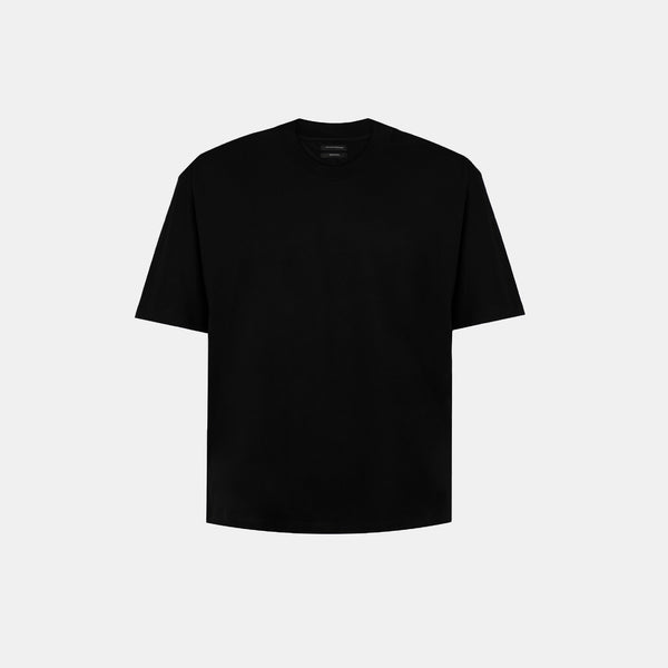 UltraSoft Blend Mock Tee (Black)