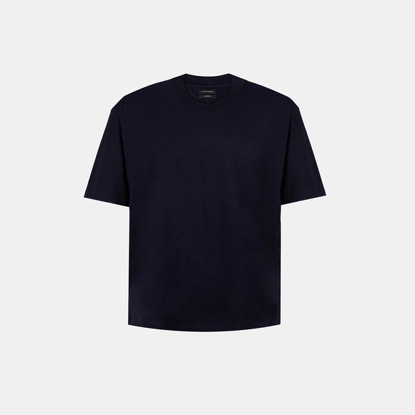 UltraSoft Blend Mock Tee (Navy Blue)
