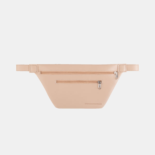 D. V. L. Multi-pocket Belt Bag (Beige)