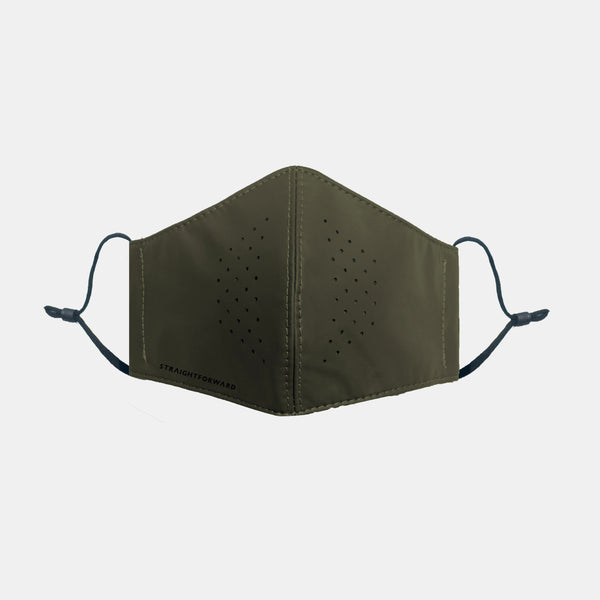 OmniResist VentTech Face Mask (Army Green)