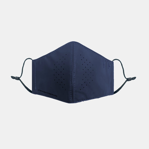 OmniResist VentTech Face Mask (Navy Blue)
