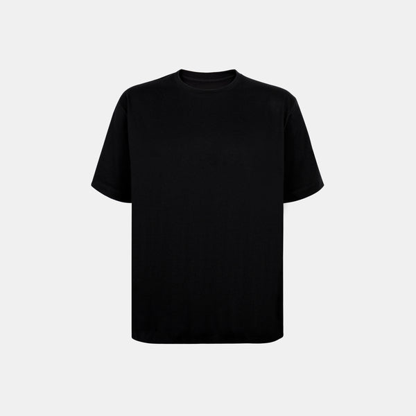 Weighted Blend Oversized Tee (Black)