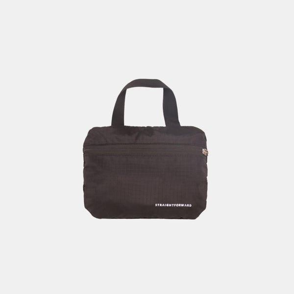 Nylontech Packable Duffel Bag (Black)