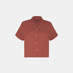 Women's Supersoft Lounge Shirt (Deep Rose)
