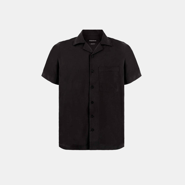 Softblend Cuban Shirt (Black)
