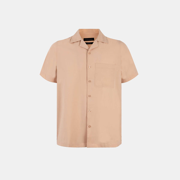 Softblend Cuban Shirt (Mocha)