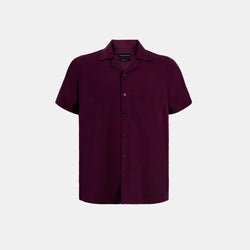 Softblend Cuban Shirt (Wine)