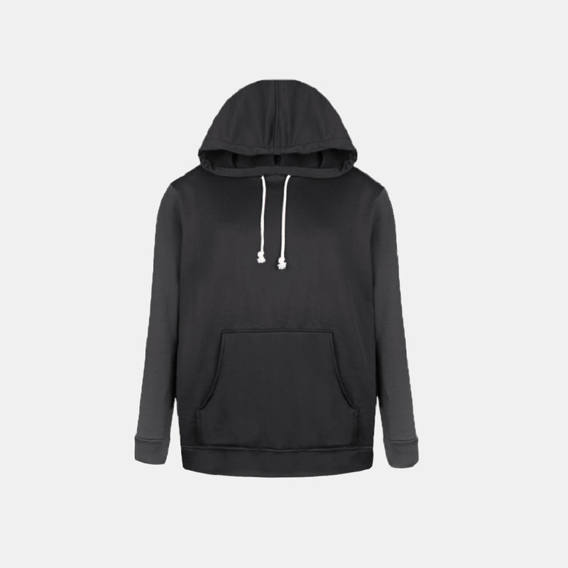 Double Brush Pullover Hoodie (Black)