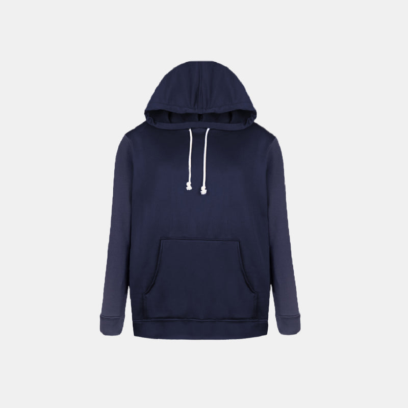 Double Brush Pullover Hoodie (Navy Blue)