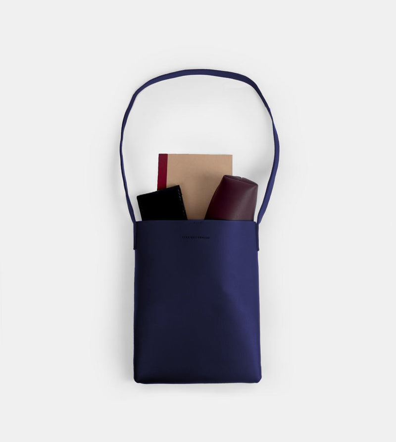 D. V. L. Tote Bag with Sling (Blue)