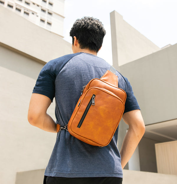 D. V. L. Traveler Bag (Chestnut)