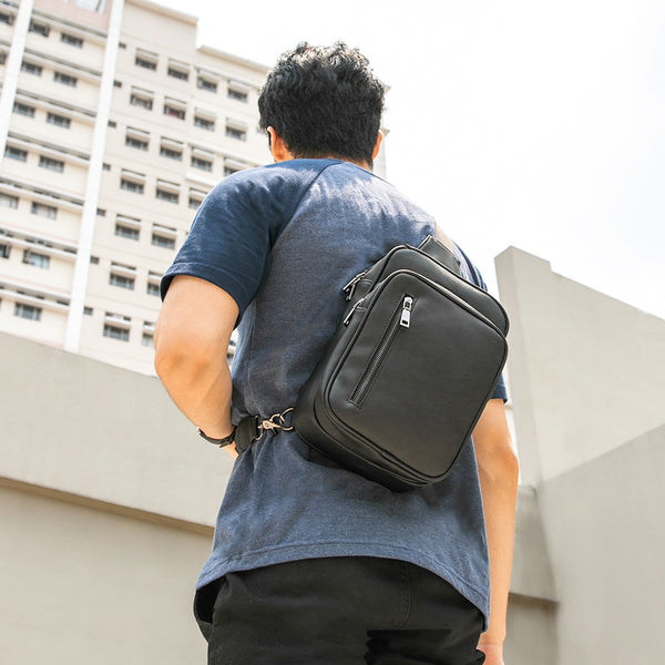 D. V. L. Traveler Bag (Black)