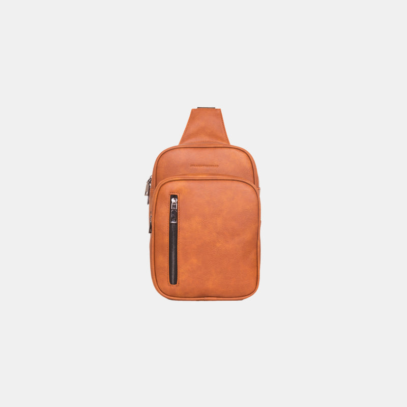 D. V. L. Traveler Bag (Tan)