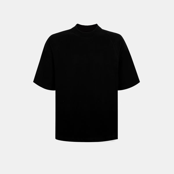 Ultrasoft Elbow Length Tee (Black)